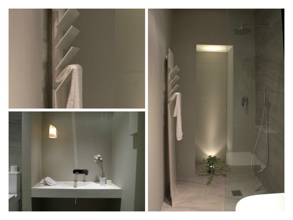 baño para estudio contemporánea