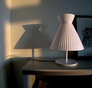 luminaria en estudio show-room contermporánea interiorsmo